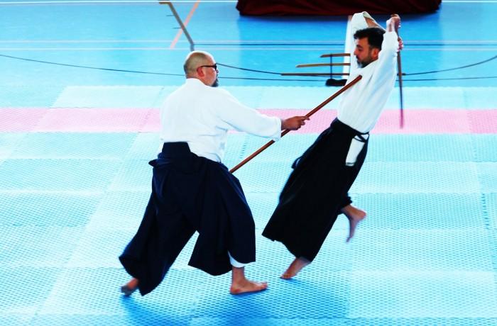 Embukai II Jō vs. Bokken