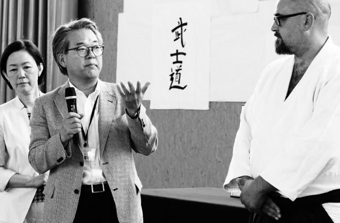 Embukai II discurs de Hiroyuki Makiuchi san